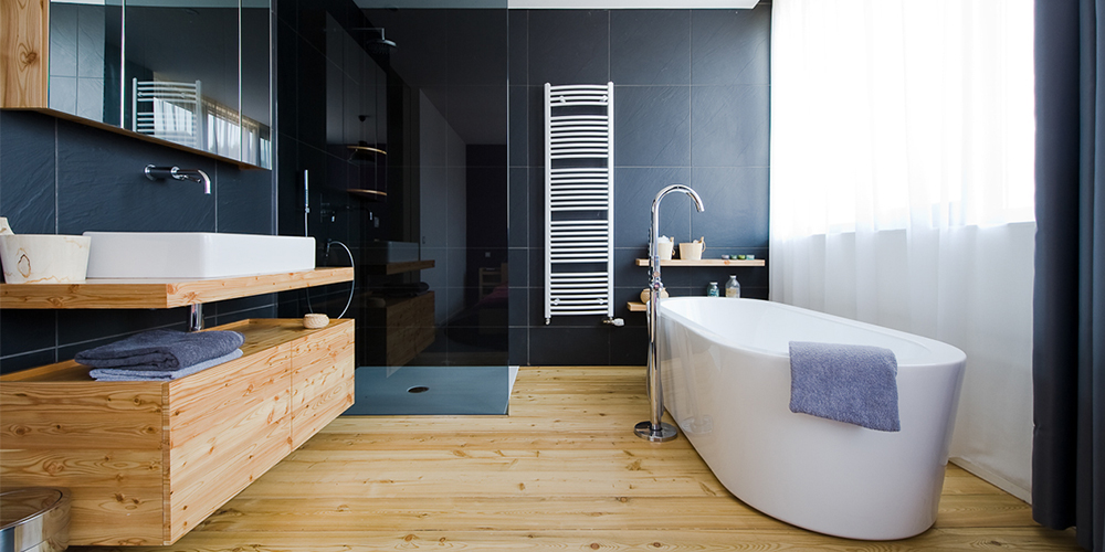 5 inspirations pour la salle de bain miliboo blog for Photo sdb moderne