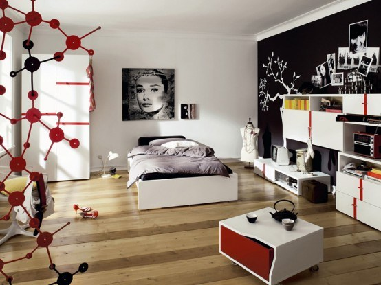 Couleur Pour Chambre À Coucher : Rooms for Teenage Girl Bedroom Ideas