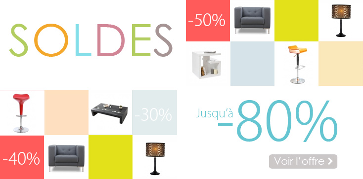 Soldes meubles design for Solde meuble salon