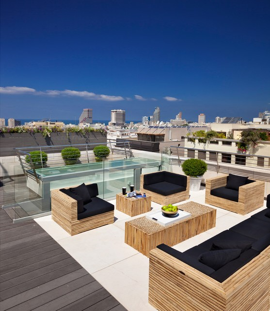 6 id es de d co de terrasses pour l 39 t miliboo blog for Deco terrasse design