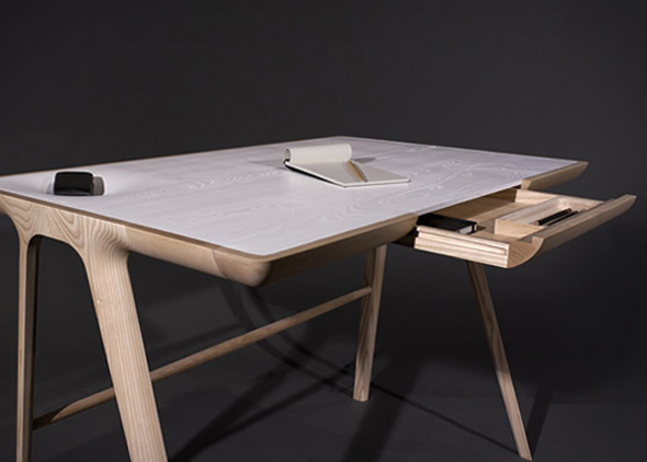 L 39 objet pratique et design maya desk de dare studio - Mobilier de bureau contemporain ...