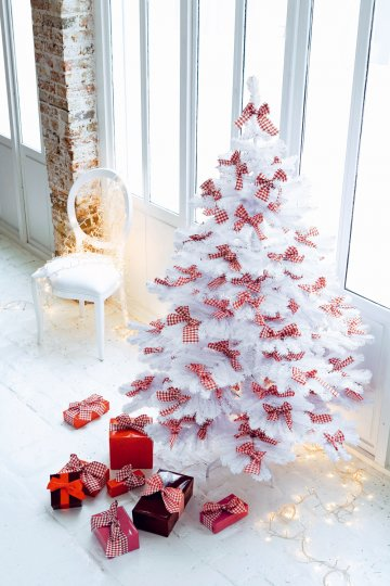 Les couleurs de no l miliboo blog for Decoration sapin de noel rouge et blanc