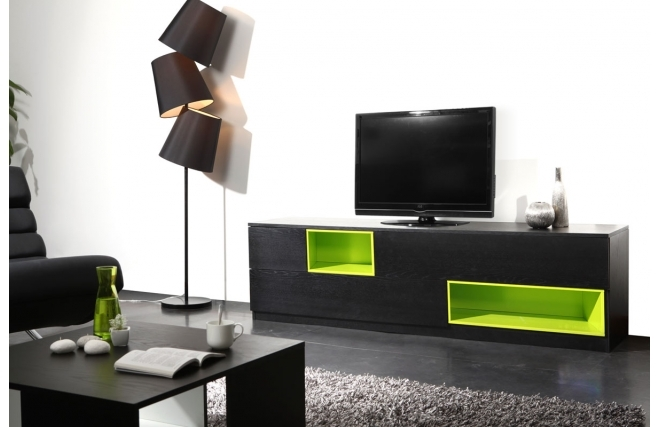 meuble mural salon tv roche bobois uac pour le salon. Black Bedroom Furniture Sets. Home Design Ideas