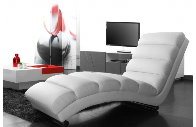 chaise longue pour salon. Black Bedroom Furniture Sets. Home Design Ideas