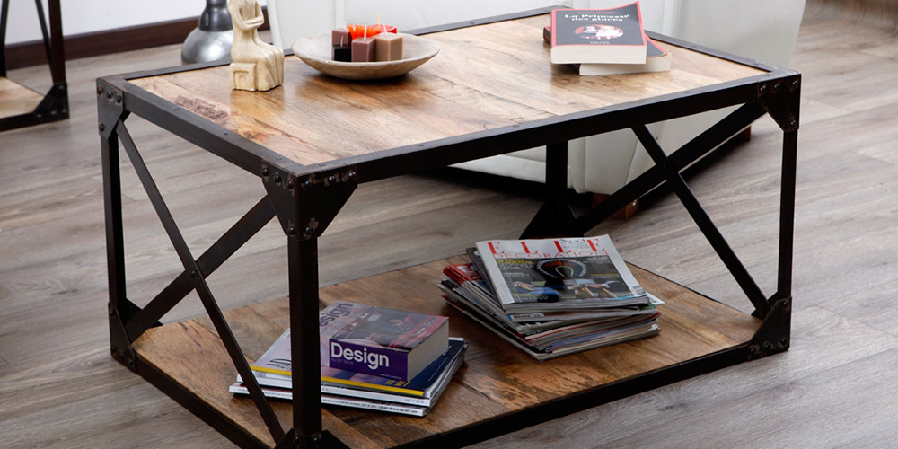 Coup de coeur de landri marketing table basse atelier - Table basse industrielle la redoute ...