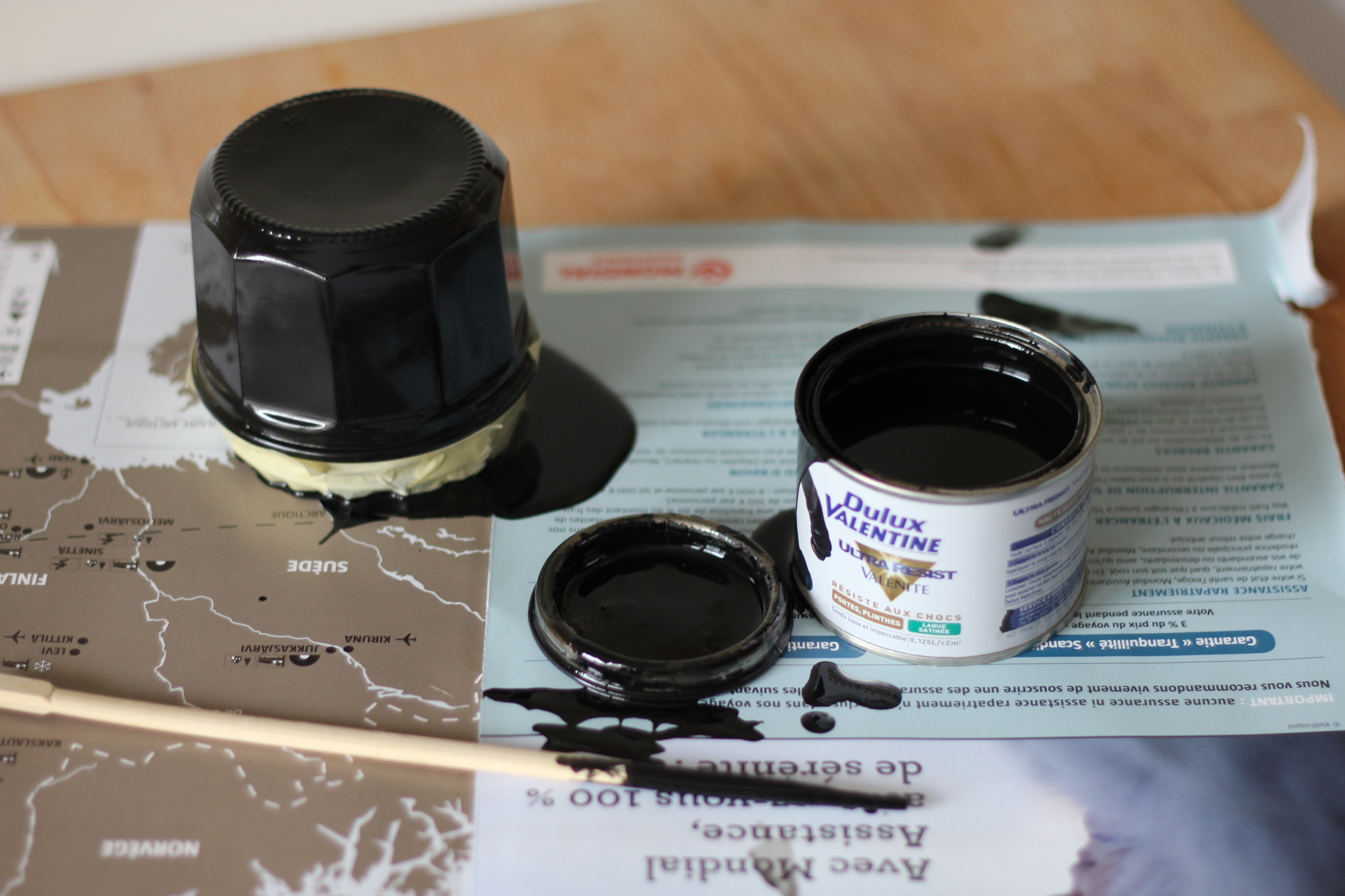 DIY photophore noir halloween miliboo