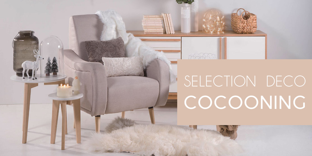 D co cocooning s lection miliboo blog - Idee deco salon cocooning ...