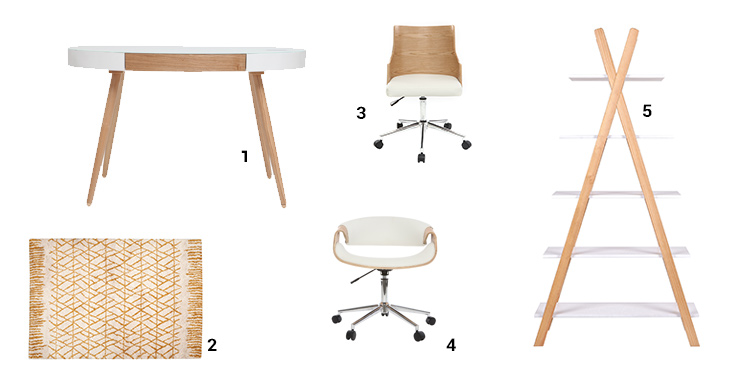 Selection meubles de bureau scandinave miliboo